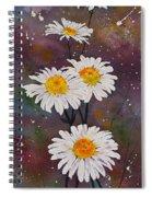Morning Daisies Spiral Notebook