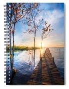 Morning Dreams Spiral Notebook