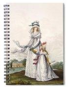 Morning Dresses, Fig. 63 & Fig. 64 Spiral Notebook