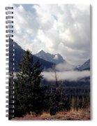 Morning East Glacier Park Spiral Notebook