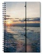 Morning Fishing Spiral Notebook
