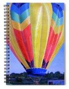 Morning Flight Spiral Notebook