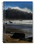 Morning Fog Burn Spiral Notebook