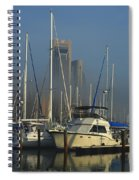 Morning Fog Ll Spiral Notebook