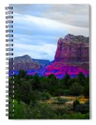 Glorious Morning In Sedona Spiral Notebook