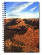 Morning Glory - The Grand Canyon From Kaibab Trail  Spiral Notebook