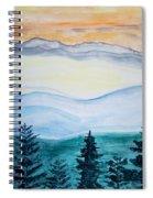 Morning Hills Spiral Notebook
