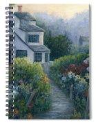 Morning In A Maine Garden Spiral Notebook