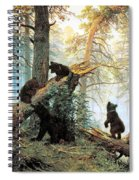 Morning In A Pine Forest Spiral Notebook