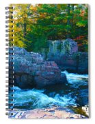 Morning In Eau Claire Dells Spiral Notebook