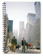 Morning In Manhattan Spiral Notebook