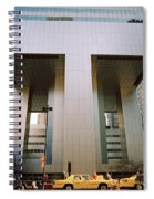 A Beautiful New York Morning Spiral Notebook