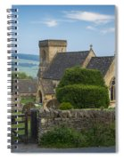 Morning In Snowshill Spiral Notebook