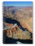 Morning In The Canyon Spiral Notebook