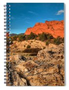 Morning Light At Garden Of The Gods Spiral Notebook