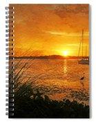 Morning Light - Florida Sunrise Spiral Notebook