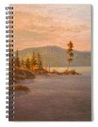 Morning Light On Coeur D'alene Spiral Notebook