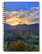 Morning Light Over Leicester Spiral Notebook
