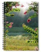 Morning Marsh Spiral Notebook
