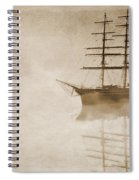 Morning Mist In Sepia Spiral Notebook