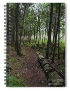 Morning Mist.. Spiral Notebook