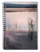 Morning Nocturne. Ladoga Lake. Northern Russia  Spiral Notebook