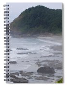 Morning On The Beach Spiral Notebook