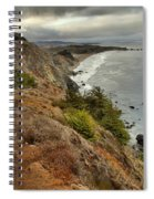 Morning Pacific Storm Clouds Spiral Notebook