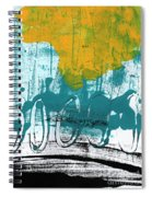 Morning Ride Spiral Notebook