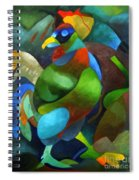 Morning Rooster Spiral Notebook