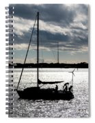 Morning Sail Spiral Notebook
