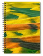 Morning Shadows On The Palouse Spiral Notebook