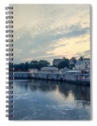 Morning Skies On The Fairmount Waterworks Spiral Notebook