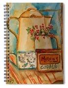 Morning Still Spiral Notebook