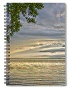 Morning Storm Spiral Notebook