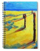 Morning Sun At The Beach Spiral Notebook