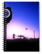 Morning Sunrise In Hermosa Beach Spiral Notebook