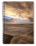 Morning Surf Spiral Notebook