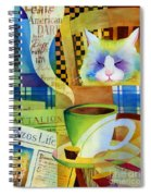 Morning Table Spiral Notebook