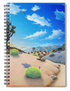 Joshua Tree Morning To Night Spiral Notebook