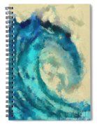 Morning Wave Spiral Notebook
