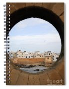 Moroccan View Spiral Notebook