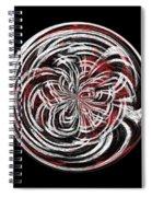 Morphed Art Globe 15 Spiral Notebook