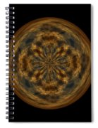 Morphed Art Globe 29 Spiral Notebook