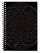 Morphed Art Globe 31 Spiral Notebook