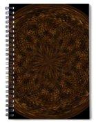 Morphed Art Globe 32 Spiral Notebook