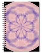 Morphed Art Globe 33 Spiral Notebook