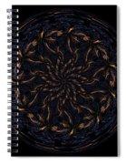 Morphed Art Globes 14 Spiral Notebook