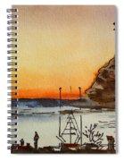 Morro Bay - California Sketchbook Project Spiral Notebook
