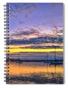 Morro Bay Panorama Spiral Notebook